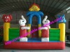 White sheep Mini Inflatable Amusement Park
