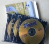 Blank CDR/DVDR in cd jewel case packaging, customized packing available