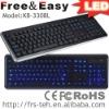 popular wired LED laptop keyboard (KB-3308L)