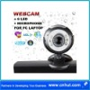 Web Cam + Mic 8MP Mega Pixel 6 LED 10X digital zoom