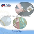 rf uhf Jewelry label ISO18000 tag provider
