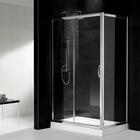 6mmTempered glass Double sliding doors shower room WD4007