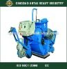 Portable road surface blaster for bridge building and road construction