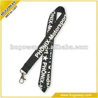 2012 fashion polyester printing custom lanyard/ribbon