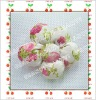 Handmade fabric decorative flower