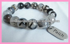 YA30 fashion style new faith word charm bracelet,faith bracelet