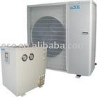 air source heat pump for low temperature -20C split type