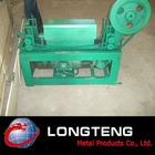 straightening and wire cutting machine for making welded wire mesh
