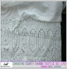 eyelet 60's cotton voile with TC yarn skirt embroidery fabric for garment