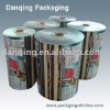 Plastic PVC sleeves in roll for automatic package
