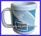 OEM plastic mug / souvenir mug / soft rubber mug / promo mug