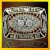 1987washington Redskin brass champions big custom ring with deep details, 3D design ring