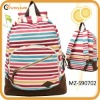 fashion design backpacks for college colorful canvas
