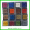 Scrapbook-perfect Premium Pigment Plastic Stamp Ink Pad set