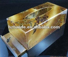 Transparent unique attractive design acrylic tissue paper box