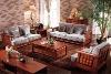 F006 solid wood living room sofa set