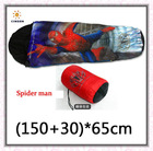 Baby Spider-man Cartoon Sleeping Bag