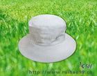 RHKSH BH23 white 100%cotton bucket hat for fashion