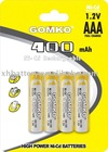 Ni-Cd battery AAA 400mAh