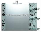 glass shelf mirror JX1924