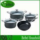 Non-stick Hard anodized aluminum pot cooking pot