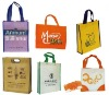 non woven recyalable and folding shopping bag