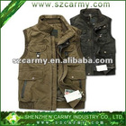 Men's Outer Wear Autumn & Winter Use 100% Cotton Plus Size Photographing & Fishing Vest