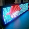 Full color LED moving sign
