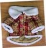 sherpa rabbit pet winter coat ,pet clothes