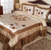 luxurious taffeta comforter set