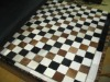 Genuine Cowhide carpet, patchwork design