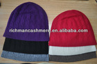 100% cashmere snapback hats