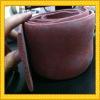 red silicone foam rubber strip