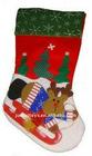 happy christmas sock
