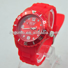 cheap silicone ion watch/silicone watch for promotion