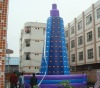 cheap and safety inflatable climbing wall