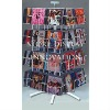 Desk top revolving CD rack with 32 holders