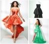 2012 Hot Sale Short Front Long Back Prom Dress