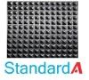 Pyramid rubber matting