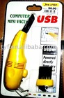USB computer vacuum, TYFD006 USB Keyboard VACUUM,KEYBOARD CLEANER CE and RoHS.