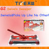 Rechargeable carpet sweeper TZ-TV668 Cordless magic sweeper with Rechargeable Battery