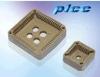 PLCC socket connector