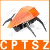 USB Fluorescent R/C Robot Beetle Toy - Transparent Orange