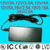 24V6.25A power adapter power suply desktop power 12V2.5A