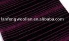 alpaca and wool woollen blended fabric