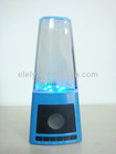 2012 fashion water dancing fountain speaker,creative led portable speaker