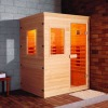 Infrared sauna room(2-3people),Dry sauna