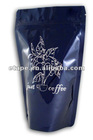 coffee& tea Stand up aluminium foil bag with zipper