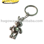 2012 3D cartoon metal keychain