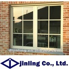 economic and good performance pvc sliding window with grilles design
